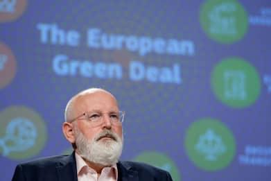 Ue, Timmermans a Sky TG24: riduzione emissioni del 55% entro il 2030