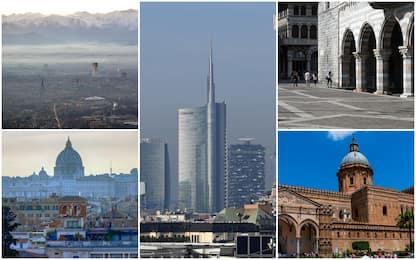 Legambiente: 85% città inquinate. Fra le 5 peggiori Milano e Roma