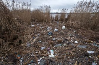 RAINHAM, KENT - JANUARY 02:  Plastics and other detritus line the shore of the Thames Estuary on January 2, 2018 in Rainham, Kent. Tons of plastic and other waste lines areas along the Thames Estuary shoreline, an important feeding ground for wading birds and other marine wildlife. According to the United Nations Environment Programme (UNEP), at current rates of pollution, there will likely be more plastic in the sea than fish by 2050. In December 2017 Britain joined the other 193 UN countries and signed up to a resolution to help eliminate marine litter and microplastics in the sea. It is estimated that about eight million metric tons of plastic find their way into the world's oceans every year. Once in the Ocean plastic can take hundreds of years to degrade, all the while breaking down into smaller and smaller 'microplastics,' which can be consumed by marine animals, and find their way into the human food chain.  (Photo by Dan Kitwood/Getty Images)