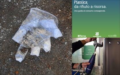 Plastica, da rifiuto a risorsa: il vademecum di Terna e Legambiente