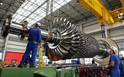 Ansaldo Energia presenta turbina a gas GT36, -40% di emissioni di CO2