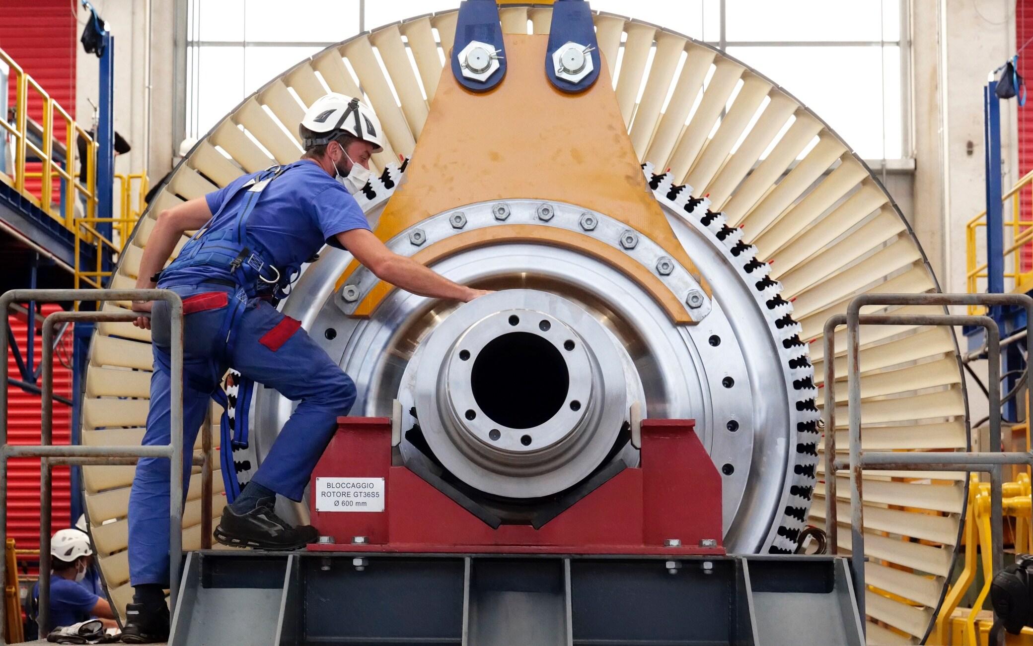 ansaldo turbina gt36