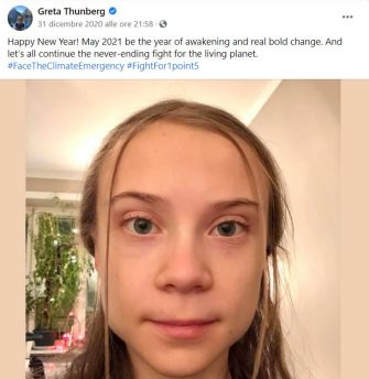 Greta Thunberg compleanno