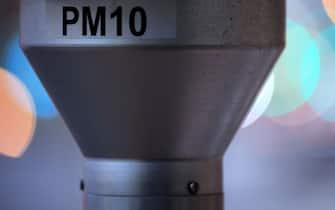 Un centralino per la rilevazione di PM10 nell'aria