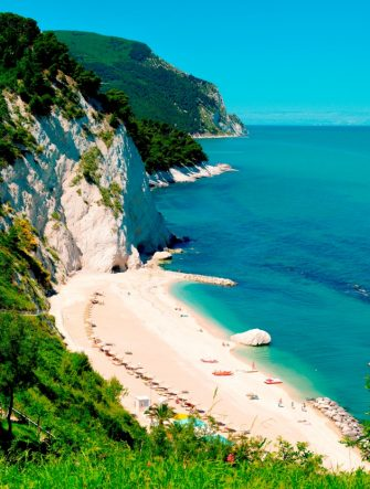 Riviera Del Conero, Numana, Marche, Italy. (Photo by Claudio Ciabochi/Education Images/Universal Images Group via Getty Images)