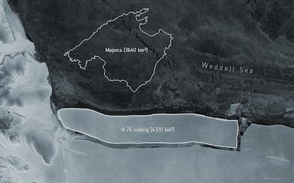 Il più grande iceberg del mondo si è staccato dall'Antartide