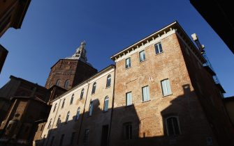 PAVIA, ITALY - JANUARY 05: A general view of Piazza Grande on January 5, 2012 in Pavia, Italy. Pavia is a town of the Lombardy region, northern Italy. It´s the home of one of the Europeans oldest universities, founded in 1361. (Photo by Vittorio Zunino Celotto/Getty Images)