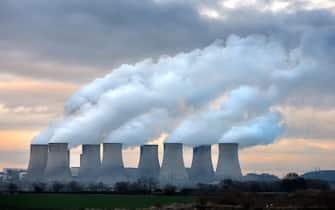 Ratcliffe on Soar Coal Power Station Nottingham UK