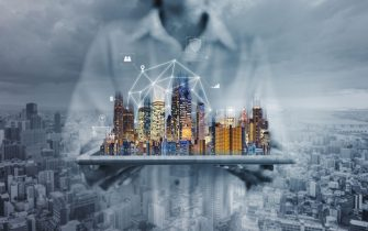Networking technology, augmented reality, and smart city and big data technology