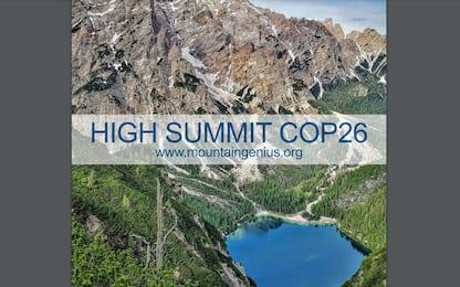 Mountain Genius e High Summit Cop26: l'evento su montagna e clima
