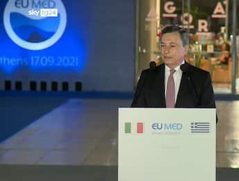 """Clima, Draghi: """"Non c'è più tempo, serve un'azione convinta"""""""