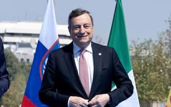 Il premier Mario Draghi nel corso del vertice Eu Med di Atene, 17 settembre 2021. ANSA/FILIPPO ATTILI/US PALAZZO CHIGI +++ NO SALES, EDITORIAL USE ONLY +++