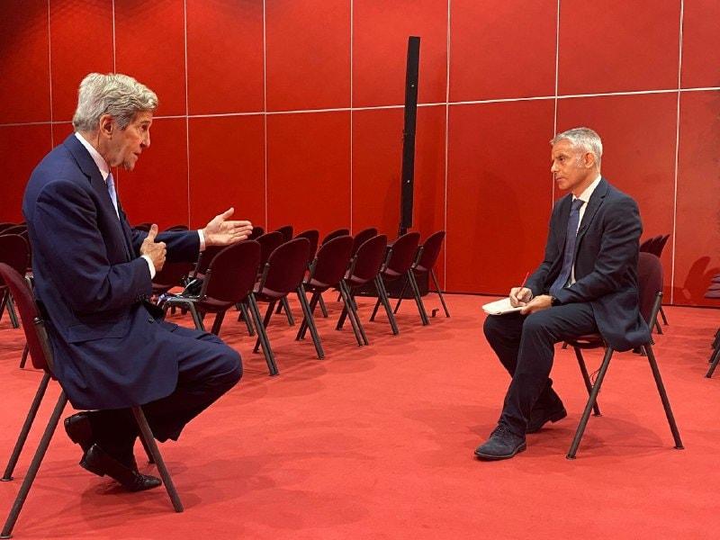 Kerry intervistato a Sky TG24