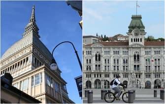 La Mole di Torino e il Comune di Trieste