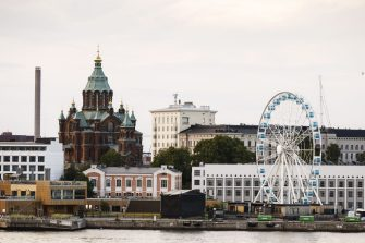 A general city view of Helsinki, Finland, taken on June 28, 2018. - US President Donald Trump and Russian President Vladimir Putin are to meet in Helsinki, the capital of Finland on July 16, 2018. (Photo by Roni Rekomaa / Lehtikuva / AFP) / Finland OUT        (Photo credit should read RONI REKOMAA/AFP via Getty Images)