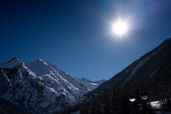 UNSPECIFIED, ITALY - FEBRUARY 04: A general view of the Gran Paradiso on February 04, 2019 in Cogne, Italy. (Photo by Vittorio Zunino Celotto/Getty Images)