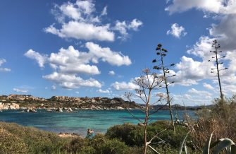 A general view shows Punta Tegge beach in the archipelago of Maddalena off Sardinia, Italy on September 17, 2017. / AFP PHOTO / Daniel SLIM        (Photo credit should read DANIEL SLIM/AFP via Getty Images)