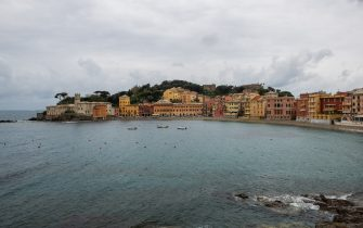 SESTRI LEVANTE, ITALY - MAY 08: General view of Baia del Silenzio during the Riviera Film Festival on May 08, 2019 in Sestri Levante, Italy. (Photo by Jacopo Raule/Getty Images)