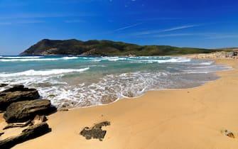 Porto Ferro Beach. Stintino. Sardinia. Italy. (Photo by Martino Motti/Education Images/Universal Images Group via Getty Images)