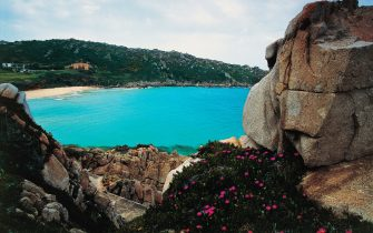 ITALY - MAY 05: Rena Bianca beach, Santa Teresa di Gallura, Sardinia, Italy. (Photo by DeAgostini/Getty Images)