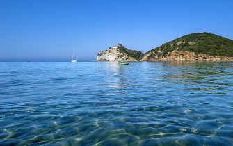 La spiaggia di Rocchette, a Castiglione della Pescaia, in Toscana