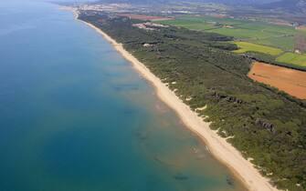 La spiaggia Principessa, di San Vincenzo, in Toscana