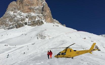 Valanga sopra Cortina, muore un ragazzo. VIDEO