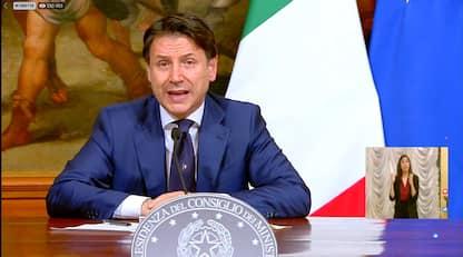 """Decreto ristori, Conte: """"Contributi sul conto corrente"""". DIRETTA"""