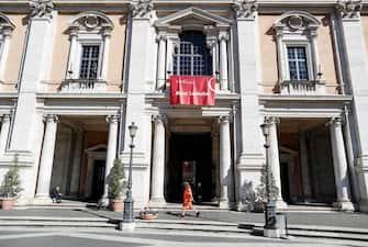 Effetti dellÕemergenza Coronavirus in citt , i Musei Capitolini, Roma, 5 marzo 2020. RICCARDO ANTIMIANI