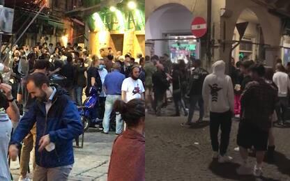 Coronavirus, polemiche per la movida a Padova e Palermo. FOTO