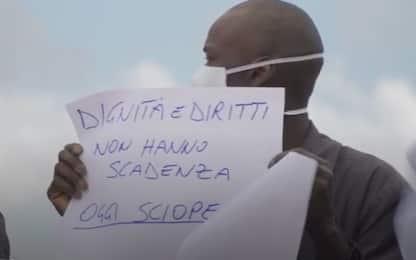 Foggia, migranti: sciopero braccianti contro regolarizzazione. VIDEO