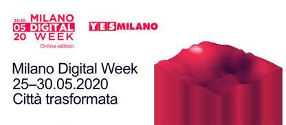 Milano Digital Week 2020, arriva l'edizione online: ecco il programma