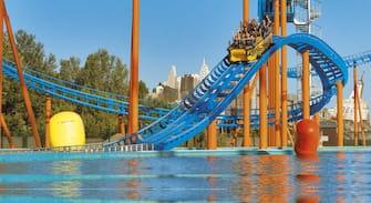 Un bimbo di 4 anni è morto per un possibile annegamento, nel pomeriggio, all'interno di 'Mirabeach', la zona delle piscine del parco di Mirabilandia a Ravenna. 19 giugno 2019. ANSA/WWW.MIRABILANDIA.IT ++ NO SALES, EDITORIAL USE ONLY ++