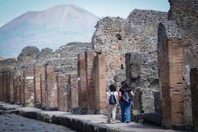 Scavi di Pompei, visitatori in aumento anche con obbligo di Green Pass