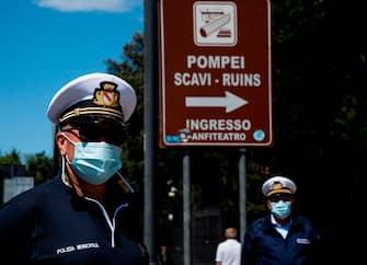 Coronavirus Pompei Riapertura
