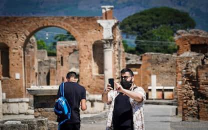 Coronavirus Fase 2, riaprono gli scavi di Pompei. FOTO