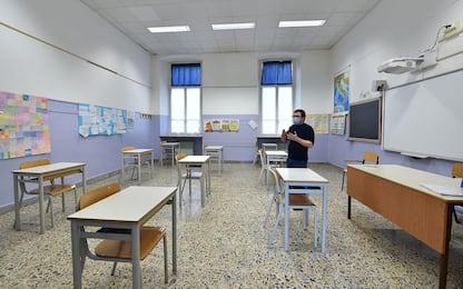 """Covid, Cts: """"Impatto nuovi contagi su scuole. Chiusure in zona rossa"""""""