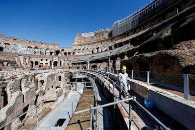 Coronavirus Roma, riapre il Colosseo dopo 84 giorni di chiusura