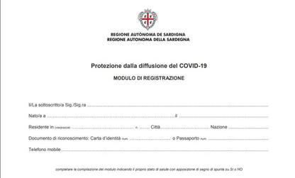 Coronavirus, autocertificazione per chi arriva in Sardegna
