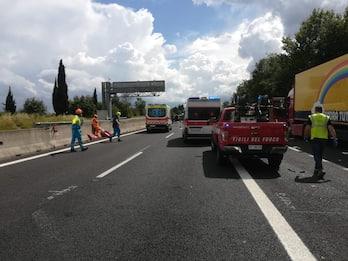 Grave incidente sull'autostrada A1 nell'aretino, 4 vittime
