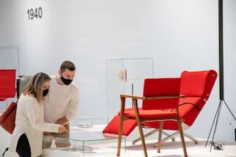 Milano, Coronavirus fase 2, riapertura del museo del design in Triennale (Massimo Alberico/Fotogramma, Milano - 2020-06-04) p.s. la foto e' utilizzabile nel rispetto del contesto in cui e' stata scattata, e senza intento diffamatorio del decoro delle persone rappresentate