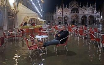 Venezia, acqua alta