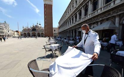 Coronavirus, a Venezia tornano i turisti dopo le riaperture. FOTO