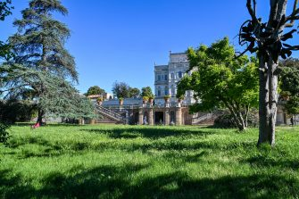 A general view shows the park of the Villa Doria Pamphili in Rome on May 4, 2020, as Italy starts to ease its lockdown, during the country's lockdown aimed at curbing the spread of the COVID-19 infection, caused by the novel coronavirus. - Stir-crazy Italians will be free to stroll and visit relatives for the first time in nine weeks on May 4, 2020 as Europe's hardest-hit country eases back the world's longest nationwide coronavirus lockdown. (Photo by ANDREAS SOLARO / AFP) (Photo by ANDREAS SOLARO/AFP via Getty Images)