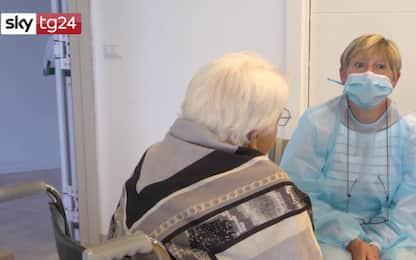 Coronavirus, fase 3: riprendono le visite per ospiti delle Rsa. VIDEO