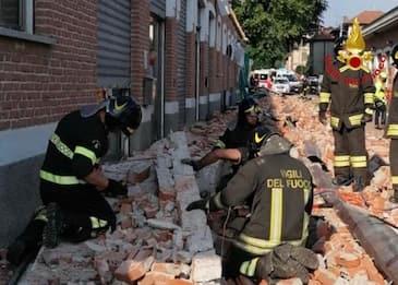 Crollo Albizzate, indagato ad della società proprietaria dell'edificio