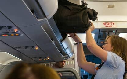 Fase 3, l'Enac: dal 26 giugno vietato portare il trolley sugli aerei