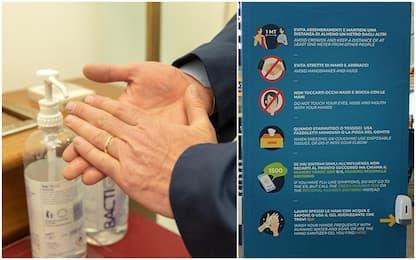Coronavirus, misure igieniche sempre meno rispettate