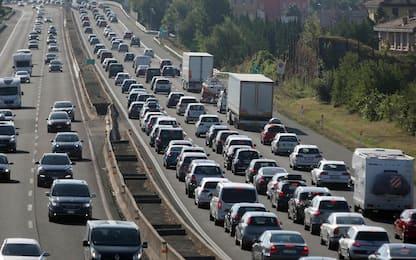Autostrade, i tratti con più traffico nei weekend d'estate. FOTO