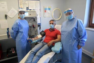 Covid: donatori plasma iperimmune all'ospedale di Vizzolo Predabissi